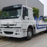 Sino trucks howo tow truck & wrecker with crane/wrecker truck for sale