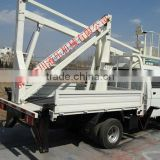 High quality vehicular self-propelled articulated work platform/hydraulic vehicle mounted boom lift platform