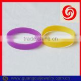 Fashion slogan good luck silicone bracelet