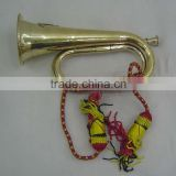 Brass Armi Bugle with Red rope