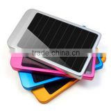 2600mAh Rohs Solar Charger Solar Panel Dual Charging Ports portable power bank for All phone