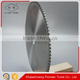 2.8mm kerf 305mm acrylic cutting circular saw blade for poly glass cutting