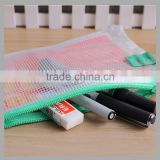 Printed Office supplies promotion a4 plastic zip folder