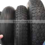 3.25/3.00-8 nature rubber tyre and inner tube for wheel barrow
