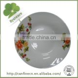"9"" ceramic plate factory in China,cheap white ceramic plate,bulk cheap porcelain plate, plate serving dishes"