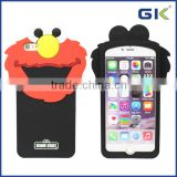 [GGIT] Epoxy Cartoon Character Sesame Street Silicone Phone Case For IPhone 6 Back Cover