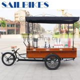 high quality coffee bike with wooden box