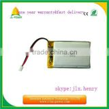 wholesale 3.7v 1400mah li-polymer lithium battery pack rechargeable