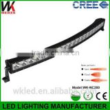 2016 Hot curve led light bar 200w for atv utv sut off road with factory price