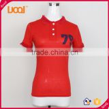 Guangzhou factory new wholesale women polo shirts,woman polo t-shirt                                                                         Quality Choice
