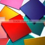 non-wave float glass made color mirror glass sheet