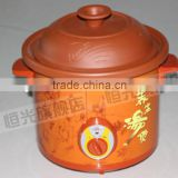 hot-sale purple clay electric slow cooker for soup lover