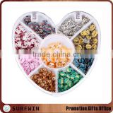 Heart Wheel Polymer Clay Nail Art Accessories Wheel DIY Art Nail