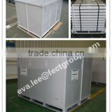 Foldable metal pallet/heavy duty container pallet/Storage & transportation pallet