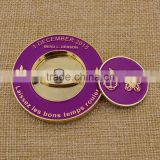Custom metal golf ball marker challenge coin                                                                         Quality Choice