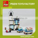 INquiry about PEI ZHI Police Station Series DIY Educational Plastic Toys Building Blocks