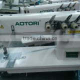 Triple Needle Chainstitch Sewing Machine ATR-5800-3 INDUSTRIAL 3 NEEDLE CHAIN STITCH SEWING MACHINE with CE, EMC APPROVAL