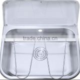 Stainless Steel Mop Sink for Commercial Use, Stainless Steel Bucket Sink Cleaner Sink Janitorial Sink