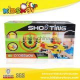 Kids sport plastic bow arrow gun Outdoor play set gun toys