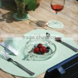 Eco-friendly PVC Foam Printed Placemats,plastic plate mat
