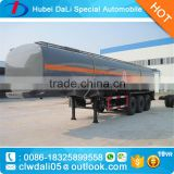 30CBM Sodium hydroxide Semi Trailer Chemical Liquid Trailer truck