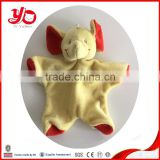 Wholesale custom plush animal elephant baby blanket