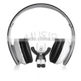 Best with memory card fm radio cheap wireless stereo headphone with phone headset