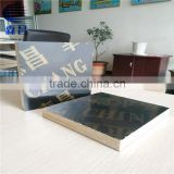 Factory Supply 12mm Film Faced Plywood/ Phenolic Poplar and Eucalyptus Film Faced Plywood