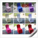High Quality 200GSM White Polyester Folding Chair Covers