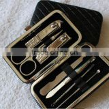 Nail file/pusher/separator/clipper ,yncy stainless steel manicure set & pedicure set