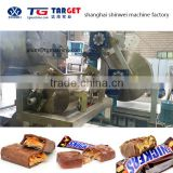 COB400 Multiple Protein Bar production line with chocolate enrobing machine line