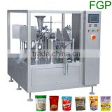 Premade pouch packing machine/premade bag packaging machine/rotary filling and sealing machine