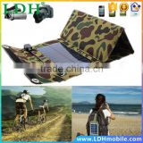 7W Solar Panel Foldable Electric Power Mobile Phone Battery Charger for Ipod Phone Camera MP4 MP3