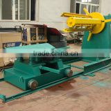 5T Hydraulic full-automatic decoiler(with coil car)