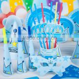 birthday party theme tableware set supplies for kids birthday party favors-birthday party mask