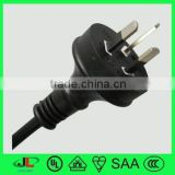 SAA standard PVC insulation and extension power cord, cord line switch australia, saa power cord switch