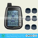 Digital Tire pressure Gauge monitor system 6~22 tires external/internal sensor truck/BUS TPMS XY-TPMS601E