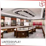 Elegant bags shop interior design with display counter shelf retail store furniture