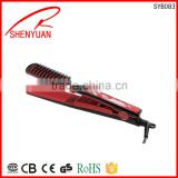 Factory price Ceramic Curling Irons Custom Hair Ceramic Straightener PTC Heater shot delievry time