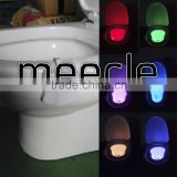toilet bowl light Modern LED Sensor Motion Activated Toilet lid Nightlight Useful and Funny Gift