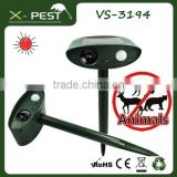 New X-pest bell howell product VS-3194 defender mega sonic solar animal guard bird cat repeller