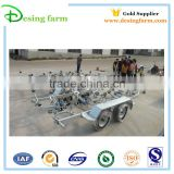 New design Galvanized 3800 boat trailer for Australia and New Zealand