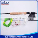 2.4-2.85m CARBON FLY FISHING ROD AND FLY FISHING REEL COMBO WITH KITS IN CARRYING BAG
