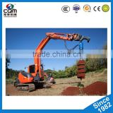 2017 Earth drill hydraulic post hole digger ground auger