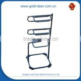 steel three-tier horse saddle rack