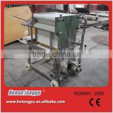 Stainless steel beer filter press