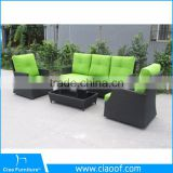 Modern korean furniture outdoor rattan sofa set