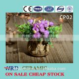 outdoor and indoor pots wholesale cement decorative plant pots