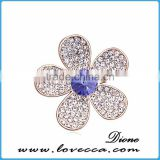 top quality fashion rhinestone crown brooch	,colorful fancy brooch design,rhinestone brooch design