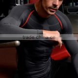 2016 Men Running Cycling Tight Sportswear Long Sleeve Breathable Quick-Dry Basketball Jersey Compression Shirt